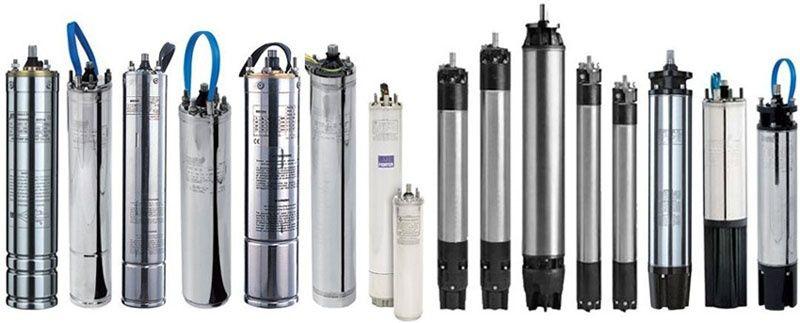Tipos de bombas de agua sumergibles
